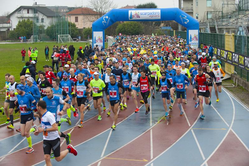 12^ Scarpadoro Half Marathon: come da pronostico vincono Mandelli e Santimaria
