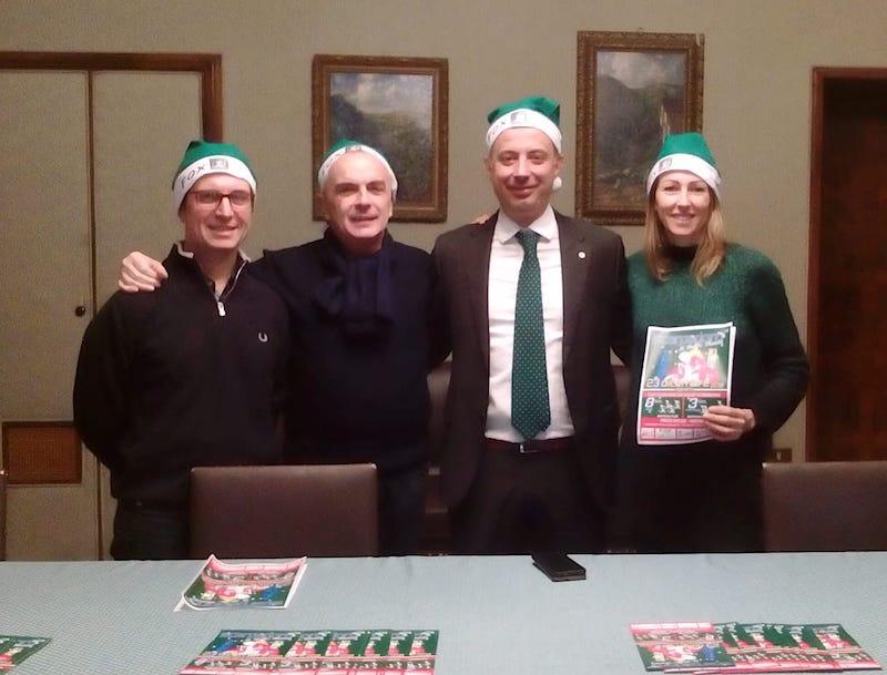 Antivigilia di corsa a Vigevano con la 5^ Scarpadoro di Babbo Natale!